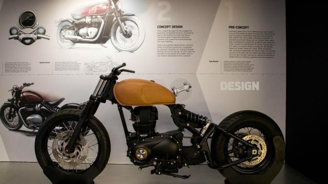 Новый музей Triumph Factory Visitor Experience