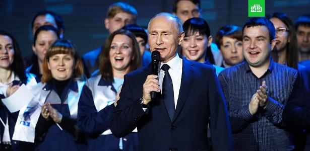 Предвыборный пиар Путина