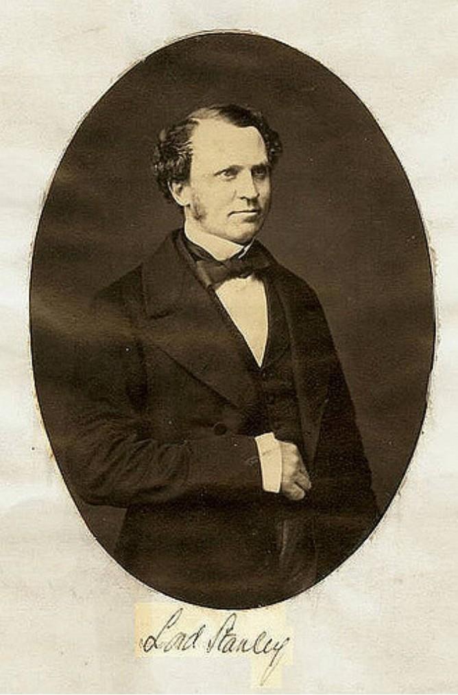 1850. Лорд Эдуард Генри Стэнли, 15-й граф Дерби (1826—1893) — британский государственный деятель.