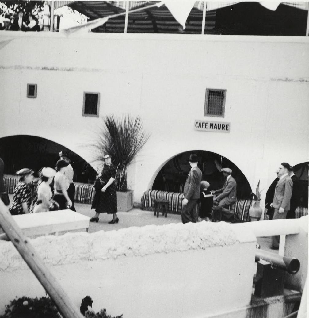Павильон Туниса. Кафе «Море»