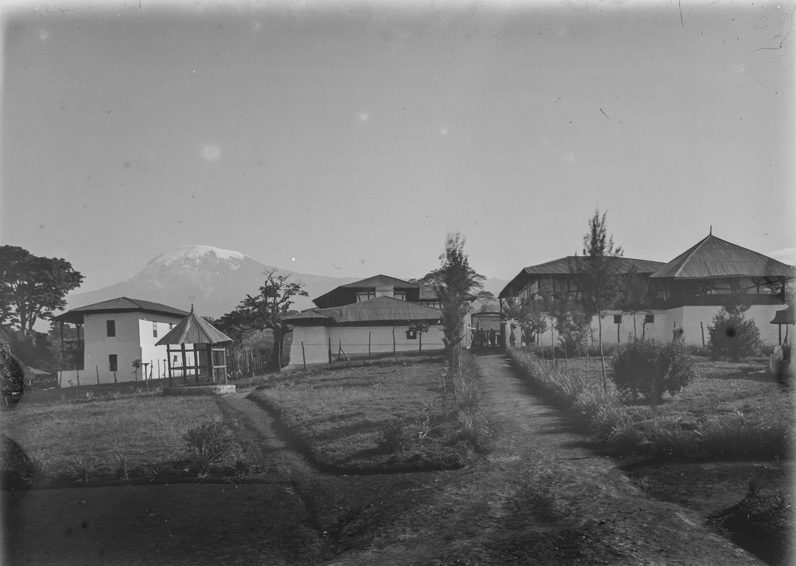 119. Станция немецкого общества Восточной Африки (ДОАГ) в Моши