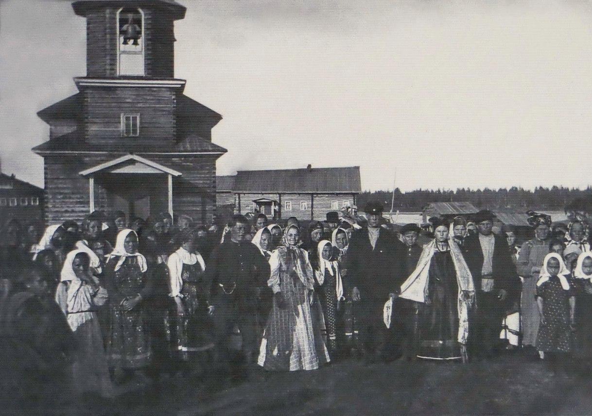 Свадьба в селе Койнас Мезенского уезда