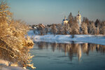 Зимняя деревня...