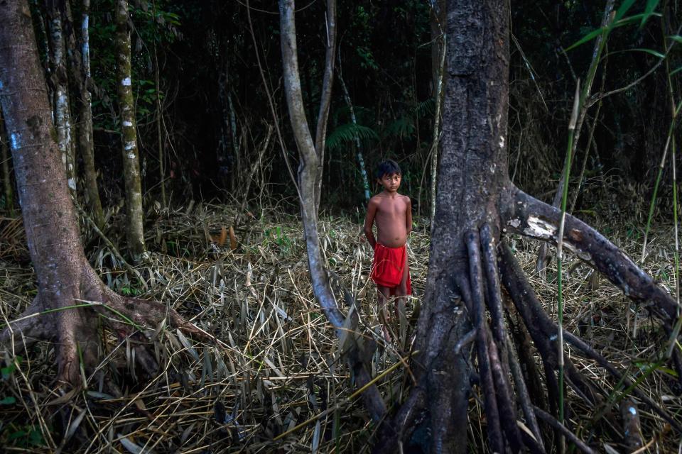 Амазонское племя обещает сразиться с безжалостной горнодобывающей компанией