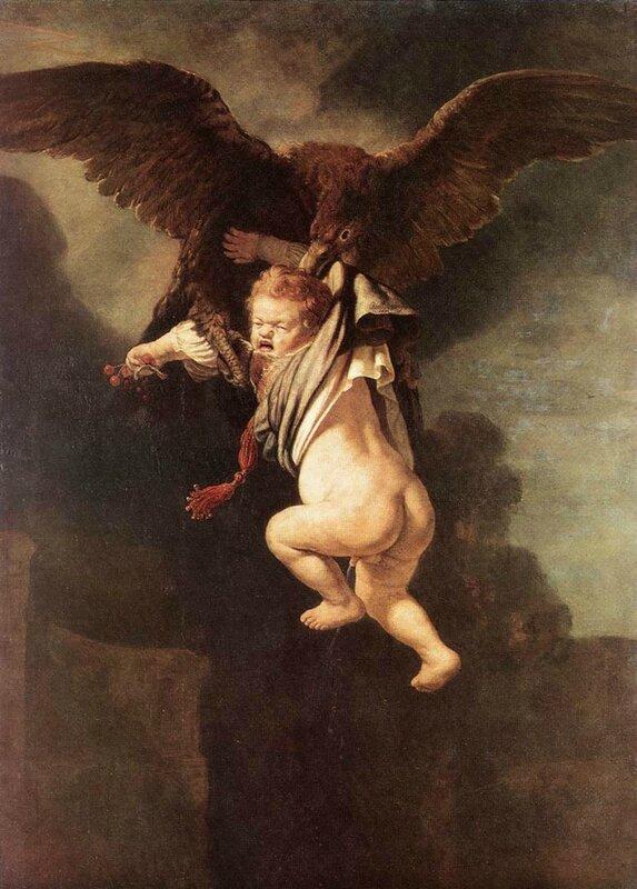 Похищение Ганимеда, 1635.