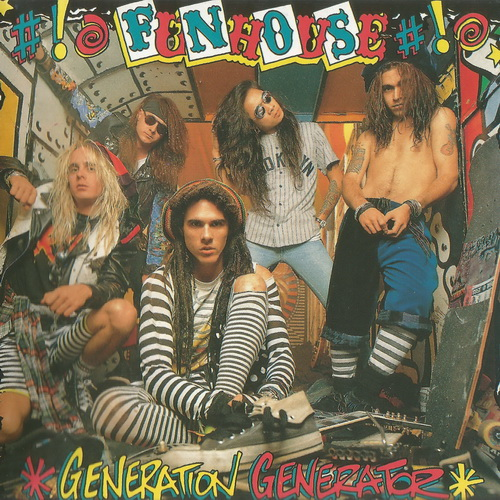 Funhouse - 1990 - Generation Generator [Heavy Metal America, HMA XD 160, Switzerland]