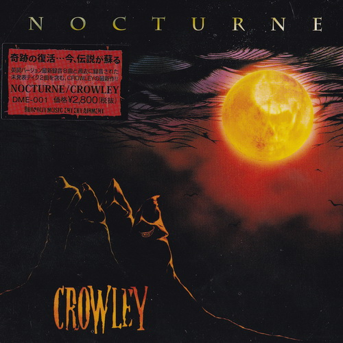 Crowley - 2017 - Nocturne [Dropout Music Entertainment, DME-001, Japan]