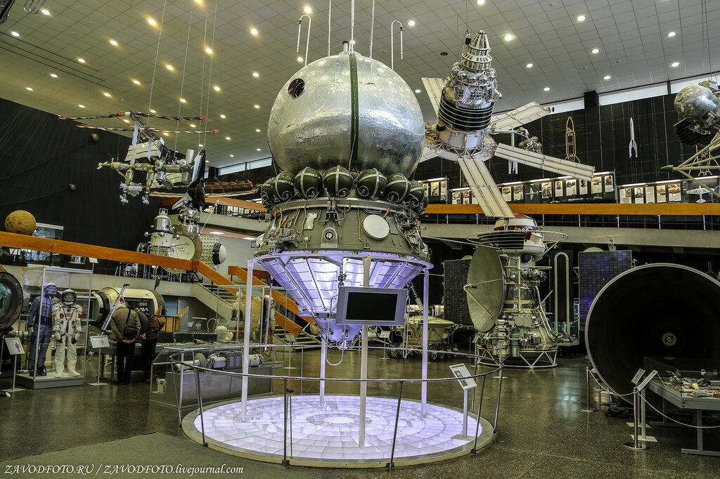 Музей истории космонавтики им. Циолковского в Калуге
