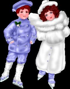 зимние детки