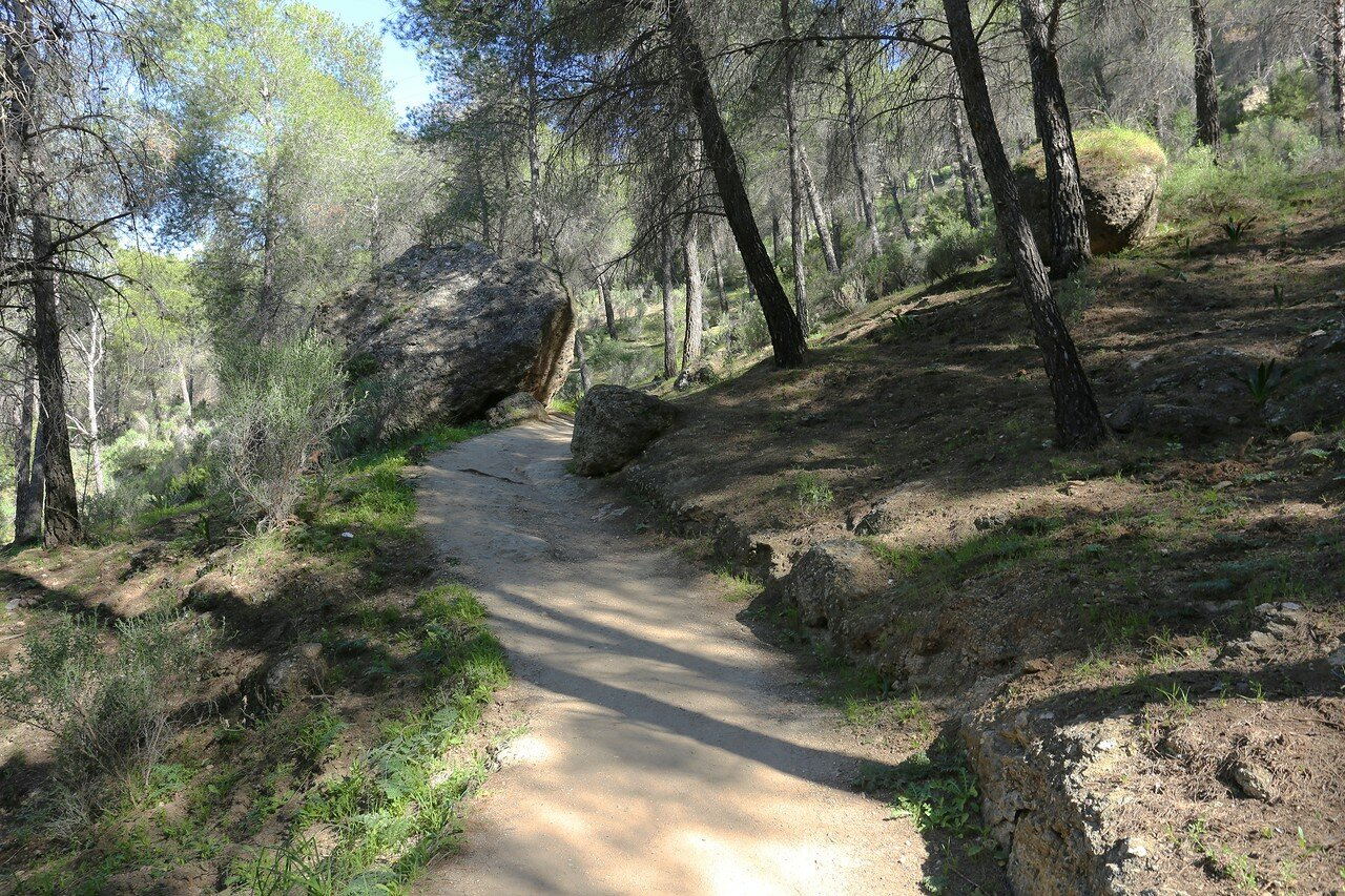 El Chorro. the King's path