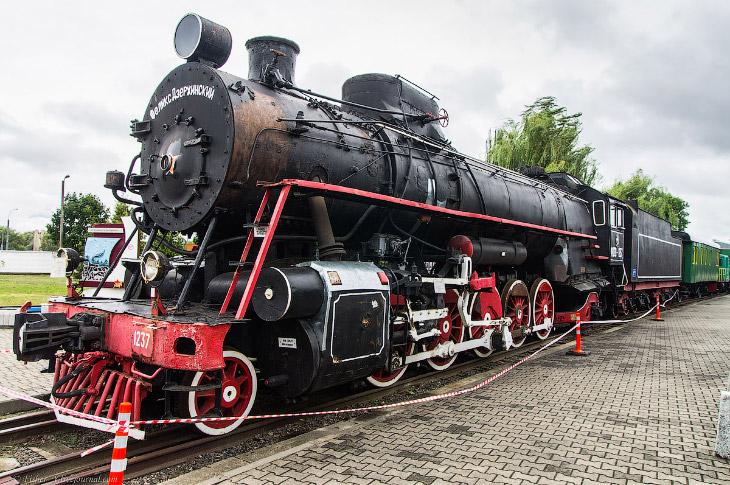 Брестский музей железнодорожной техники (37 фото)