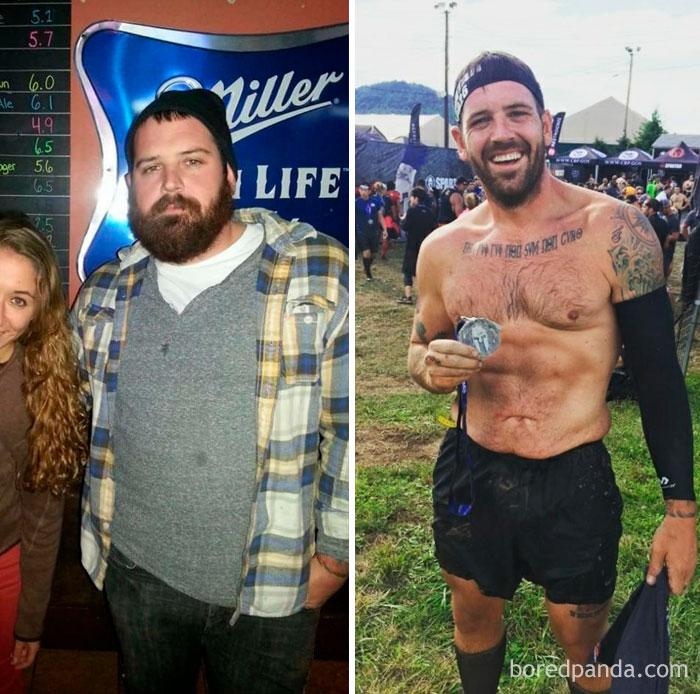 Поразительные фотографии до и после похудения, которым сложно поверить