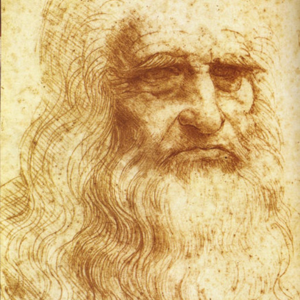 Считается, что художник выполнил его в 60-летнем возрасте. Штриховка выполнена тонкими линиями слева