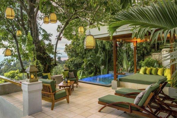Второе место занял Tulemar Bungalows & Villas в Коста-Рике с 92% положительных отзывов. Он расположе