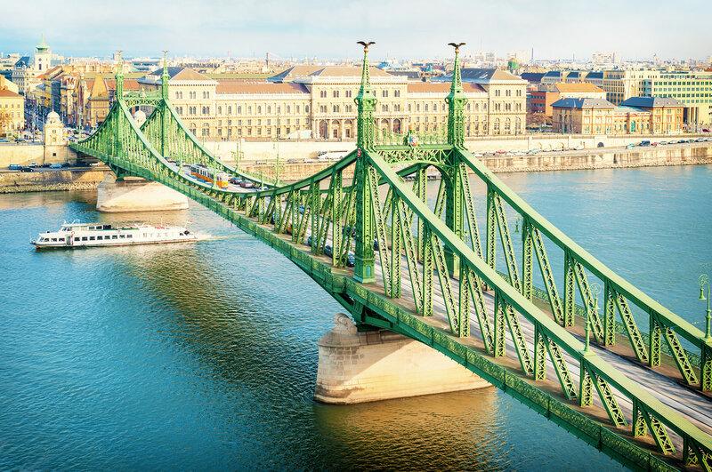 Мост Свободы в Будапеште, Венгрия
