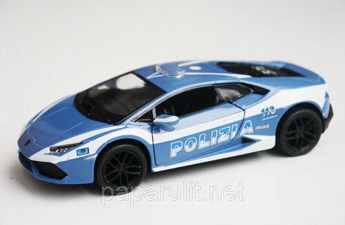 Kinsmart Huracan Polizia