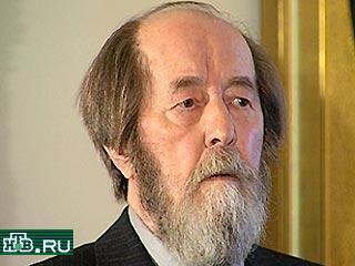 20001213-Александр Солженицын считает сейчас неуместным принятие госсимволики России~2-48941_20001213212347