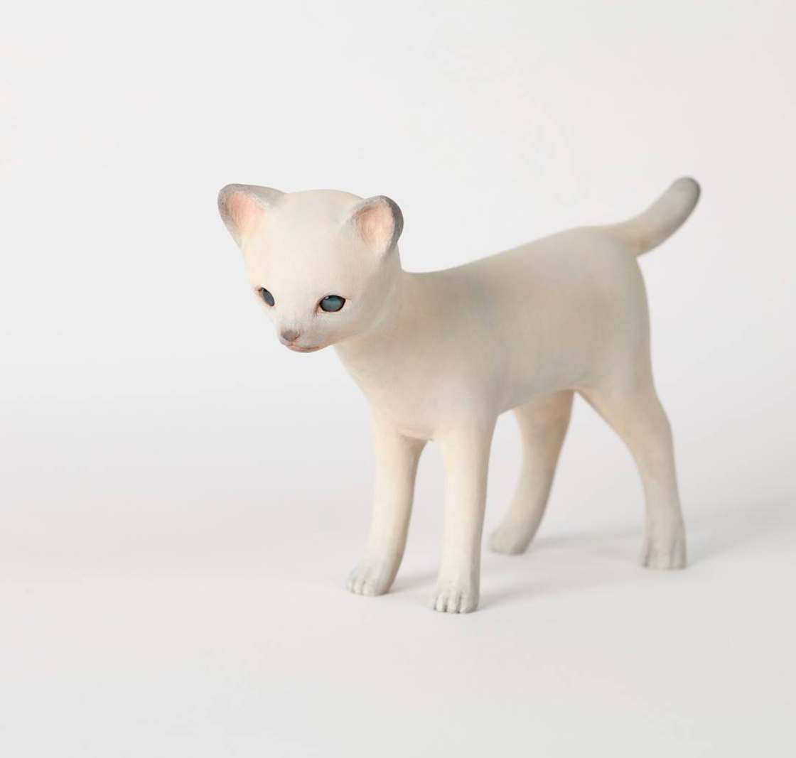 This Japanese sculptor creates delicate wooden animals
