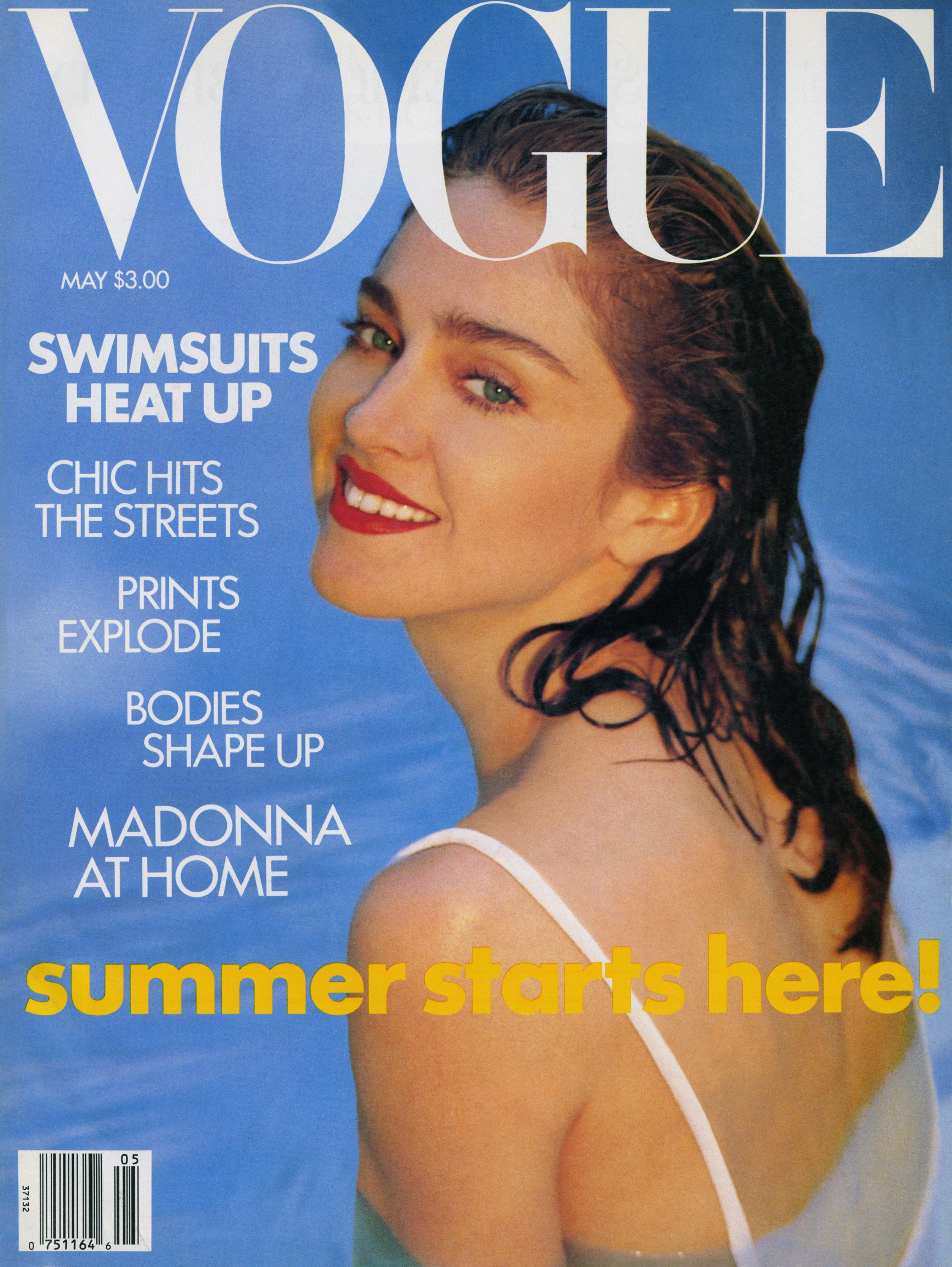 Madonna by Patrick Demarchelier (portraits) & Oberto Gili (interiors), US Vogue '1989