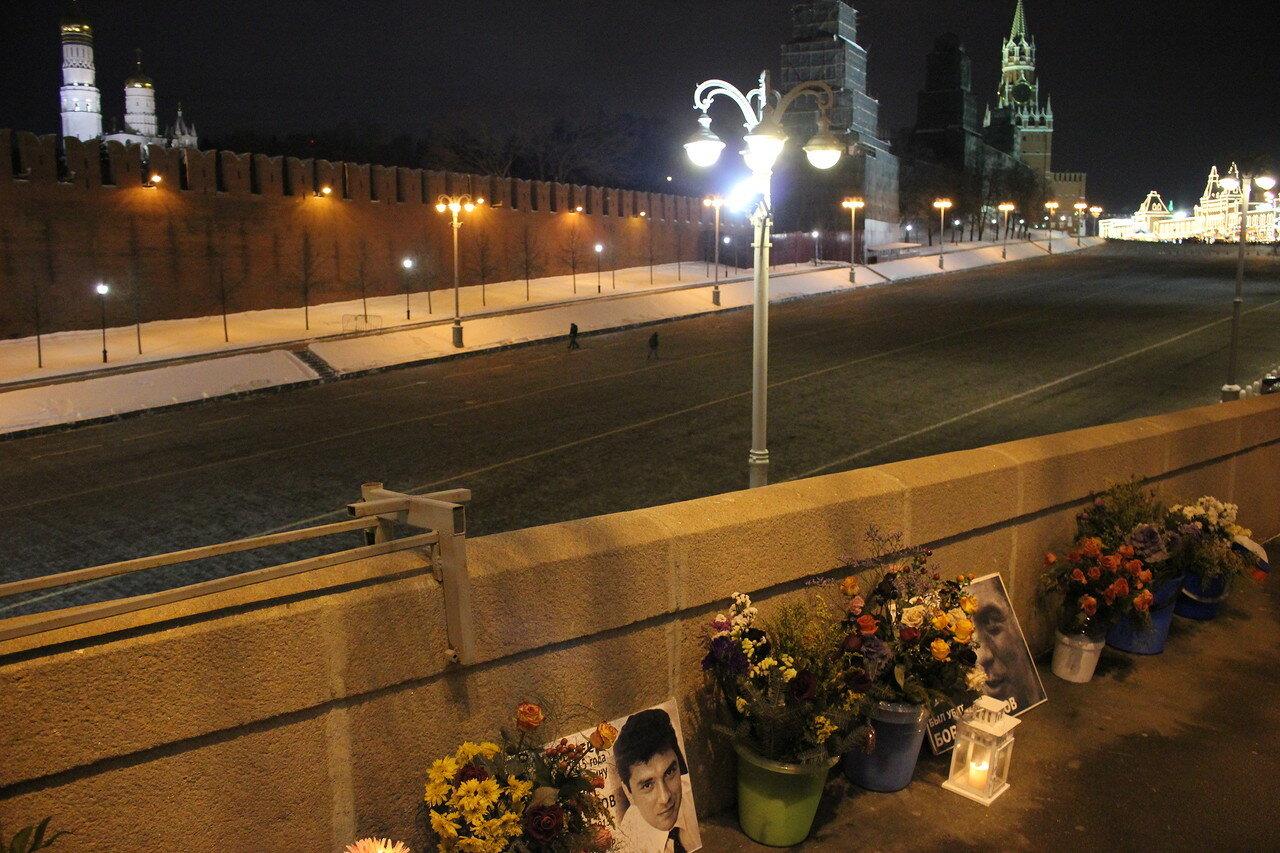Немцов мост – 1063 дня без Бориса
