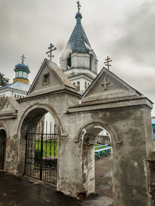 Церковь св. Николая в д. Новый Погост.