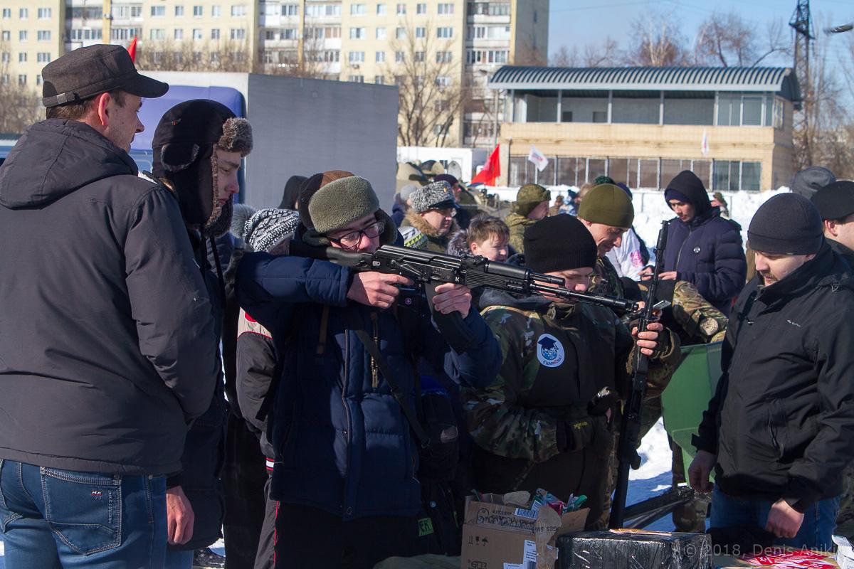 100-летие РККА на ипподроме фото 14