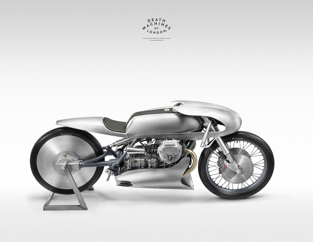 Death Machines of London: кастом Moto Guzzi LeMans Mk2
