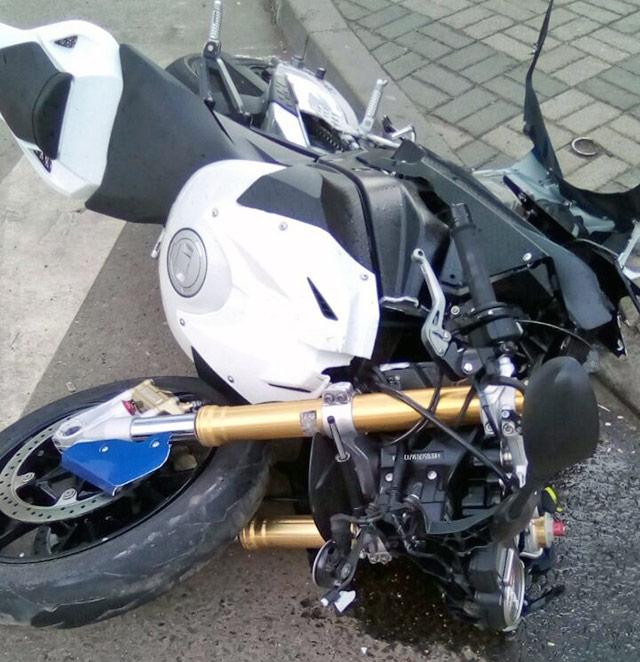 В Краснодаре погиб мотоциклист Денис Бенджи