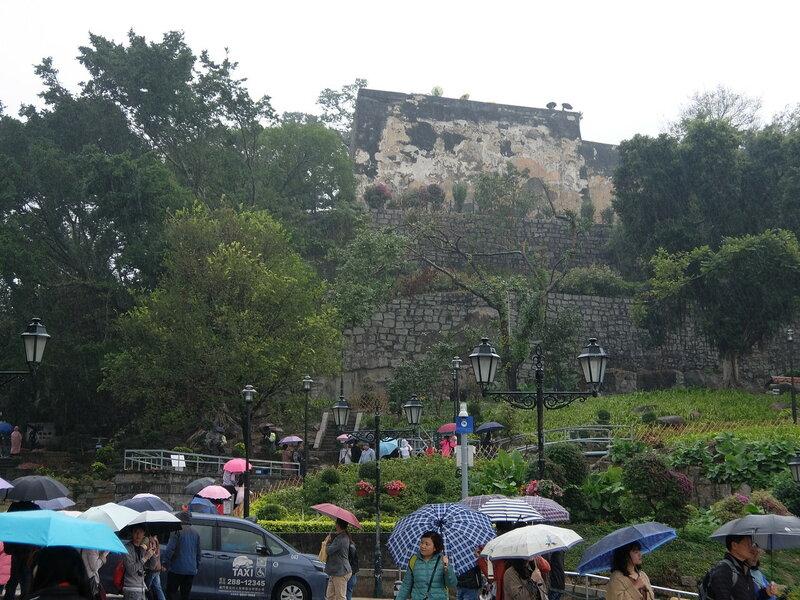 Макао - Форталеза-Ду-Монти - Вид со стороны Руин Святого Павла
