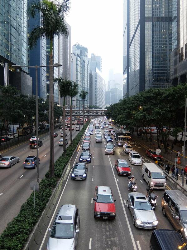 Гонконг - Магистраль на острове