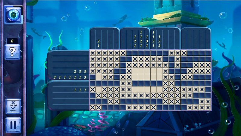 Picross Fairytale: Legend Of The Mermaid screen 1