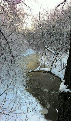 Снег шершавый, кромка льда...