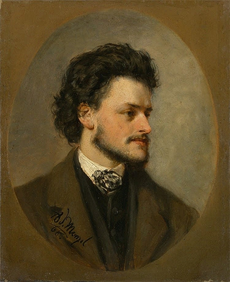 Portrait des Malers Paul Meyerheim