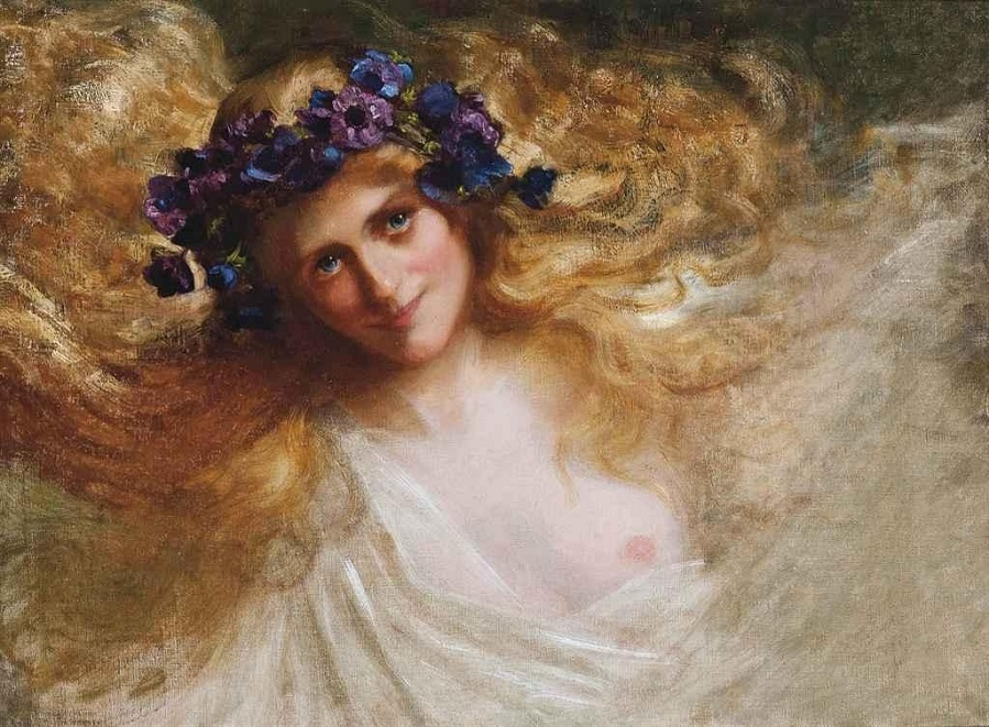 The maiden of Spring.