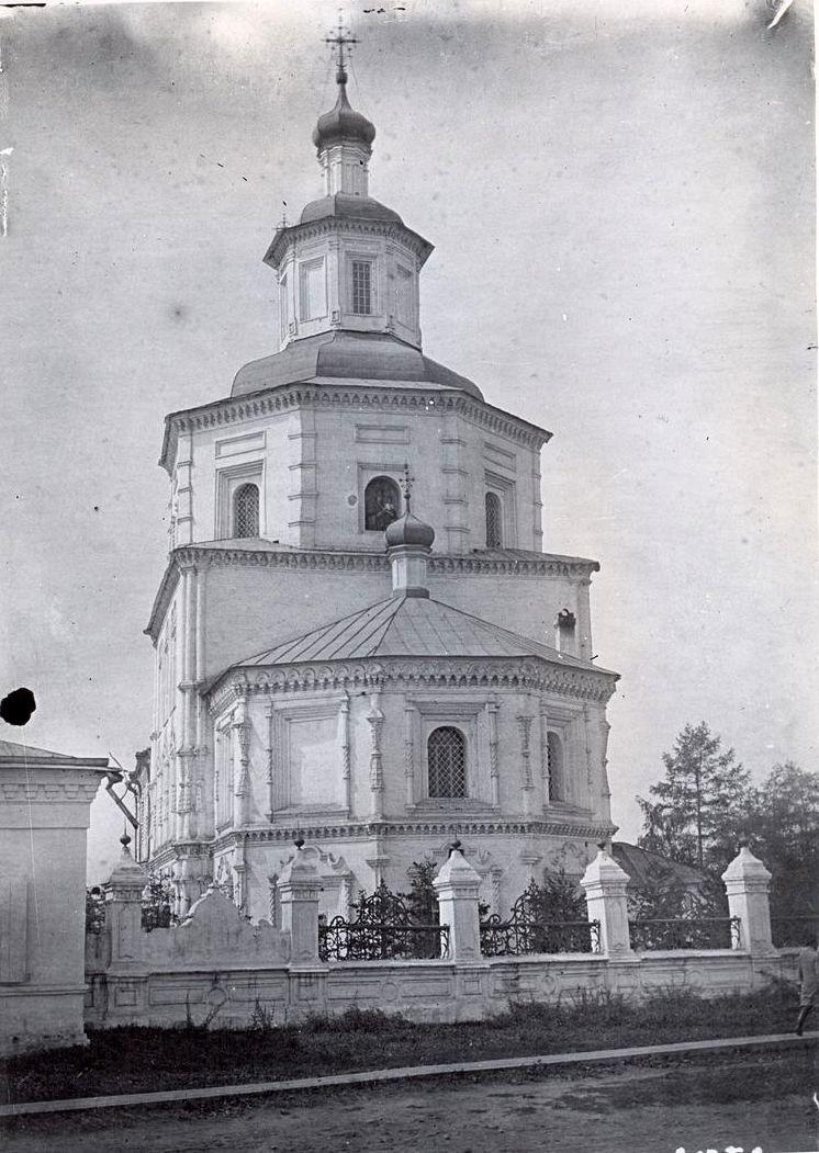 Тихвинская церковь, апсида