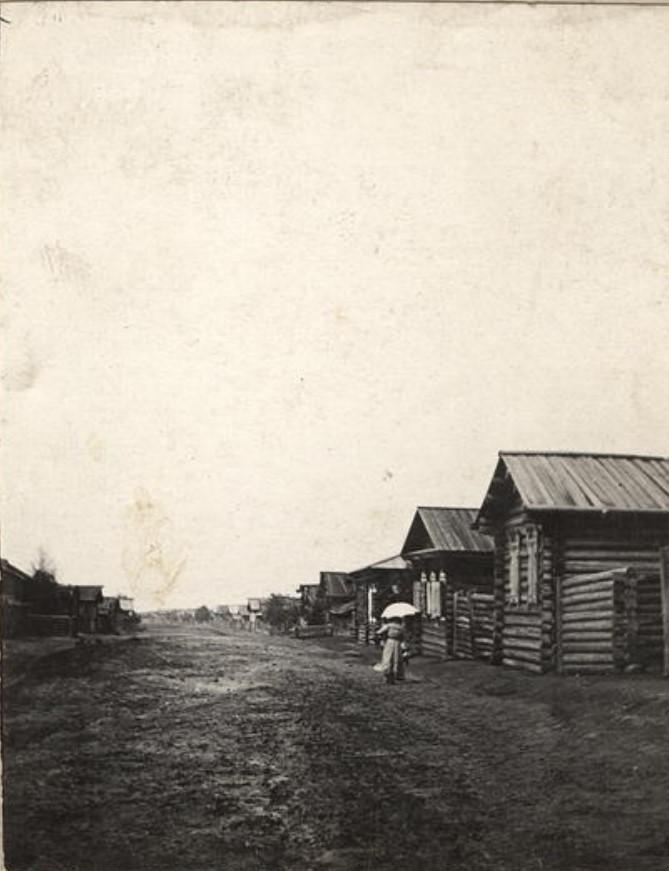 Окрестности города. Село Тамары. 1911