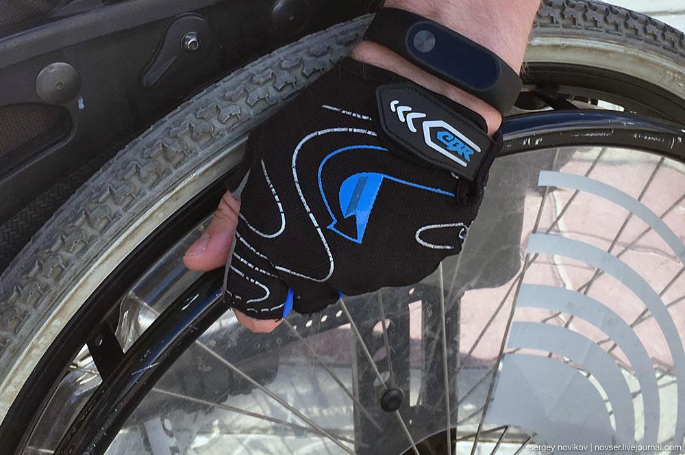 Перчатки для колясочника
