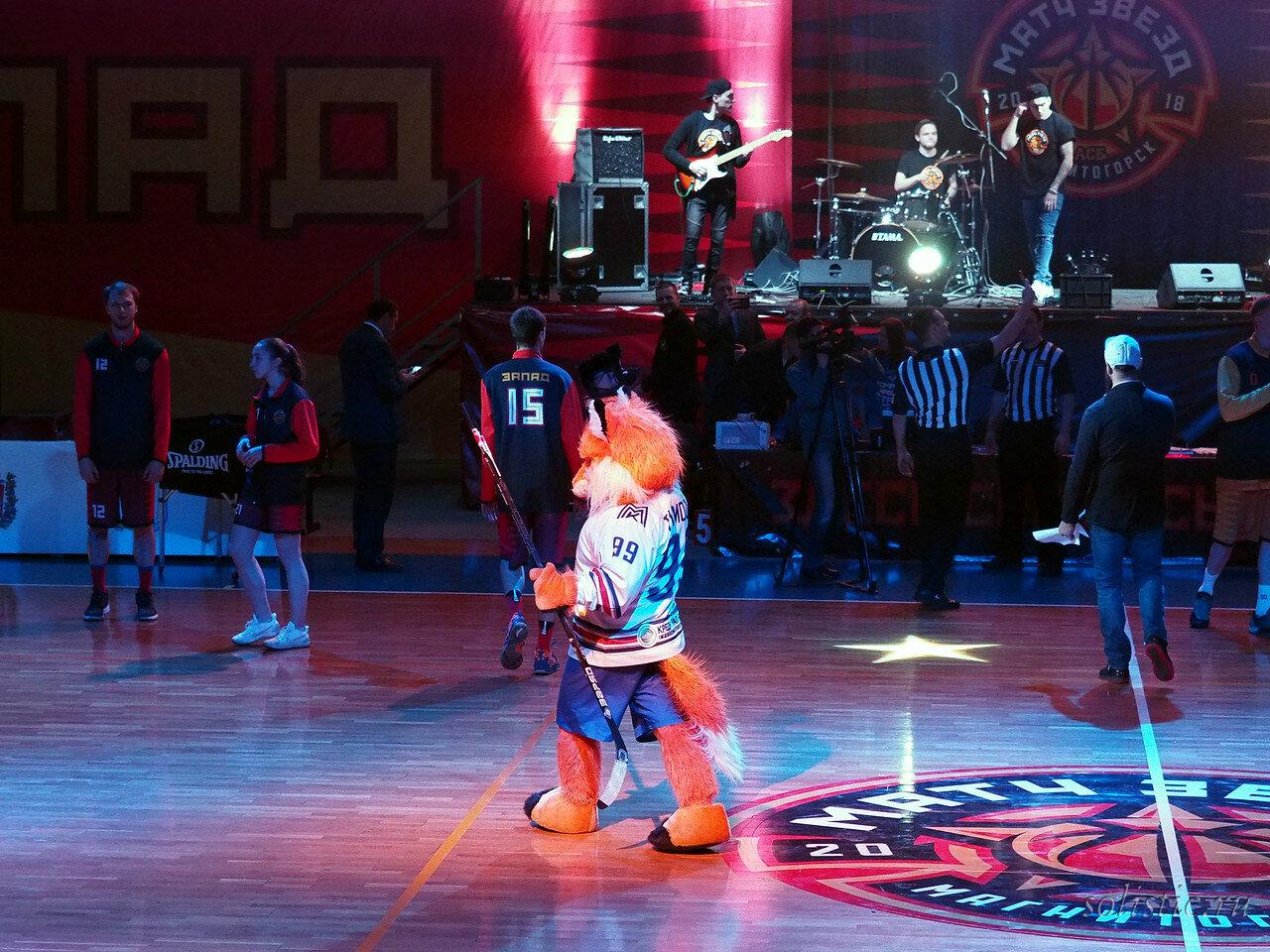 2 Матч звезд АСБ 2018 (ассоциации студенческого баскетбола)