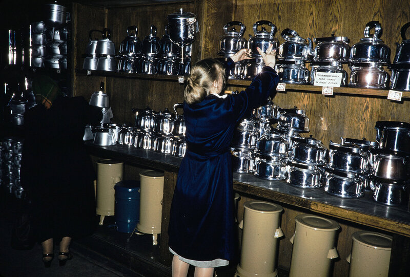 1959 Чайники в Москве. Harrison Forman.jpg