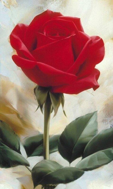 Igor Levashov [Игорь Левашов] 1964 | Flower painter