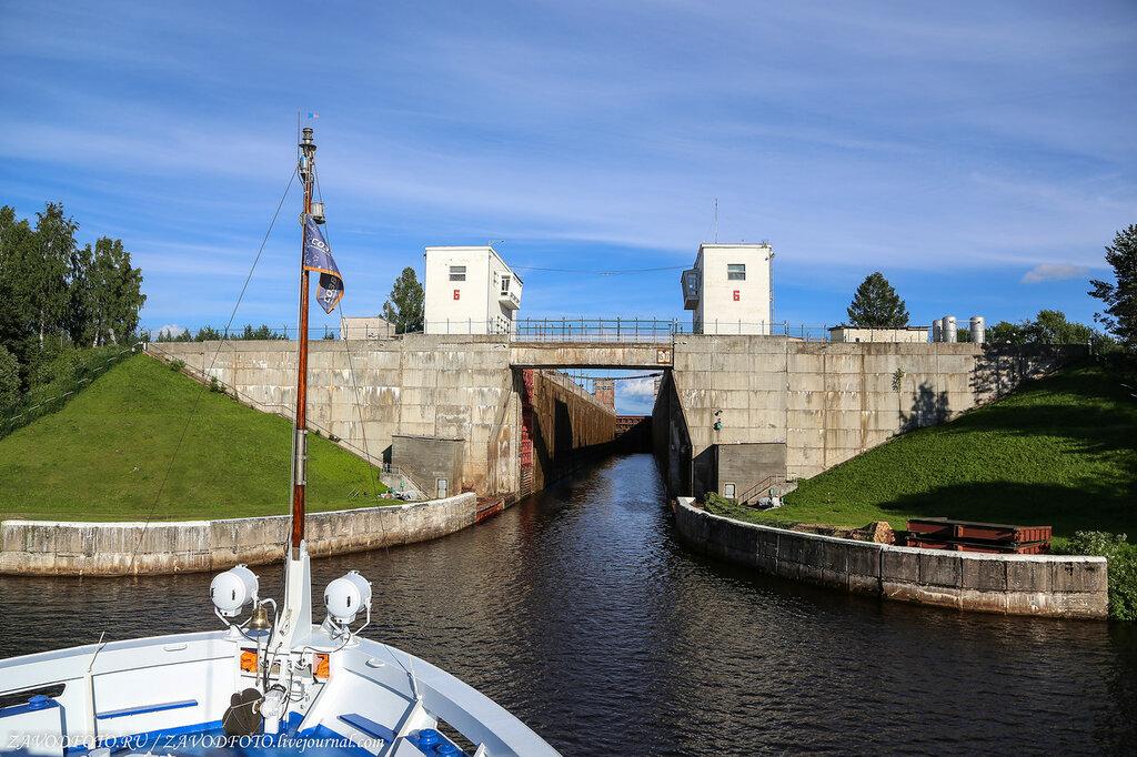 Шлюзы Волго-Балтийского канала шлюза, метра, метров, стороны, гидроузел, гидроузла, канал, составляет, пороге, камеры, ширина, построен, длиной, Длина, шлюзов, канала, камере, годах, состав, опускаются