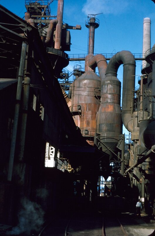 Kokura Steel mill, Nov 1952.
