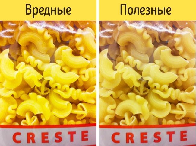 © commons.wikimedia.org  Качественную пасту изтвердых сортов пшеницы отличает золотистый или