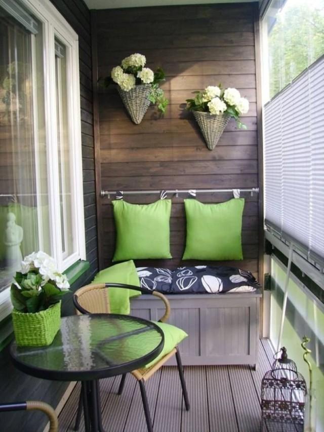 5. Уютный балкон Теплый пол