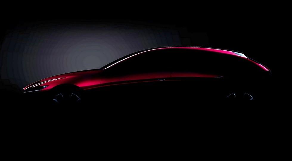 Концептуальный хэтч, который, вероятно, является предвестником следующей Mazda3