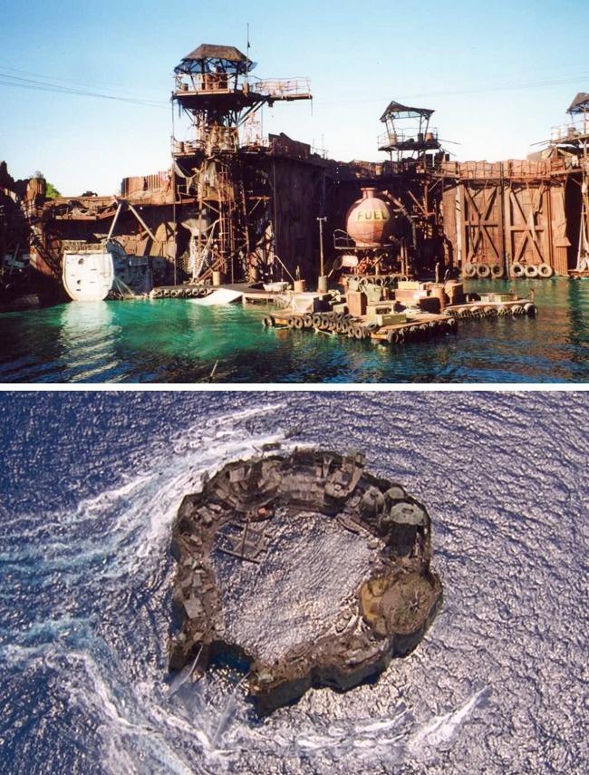 До выхода «Титаника» звание самой дорогой картины в истории кино носил «Водный мир». Для съемок было