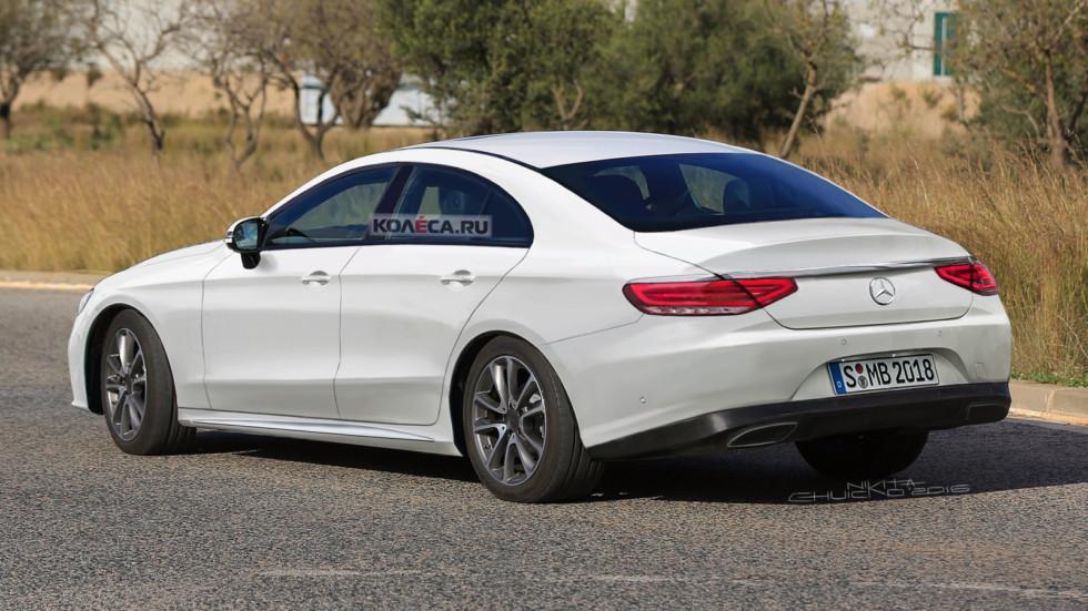 Первые тесты прототипа Mercedes-Benz CLS: комфортабельный, но с нюансами (2 фото)