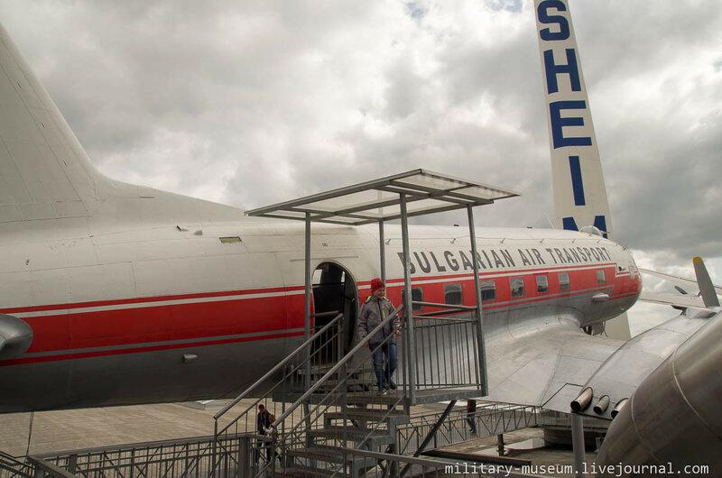 Авиация под открытым небом в Музее техники в Зинсхайме