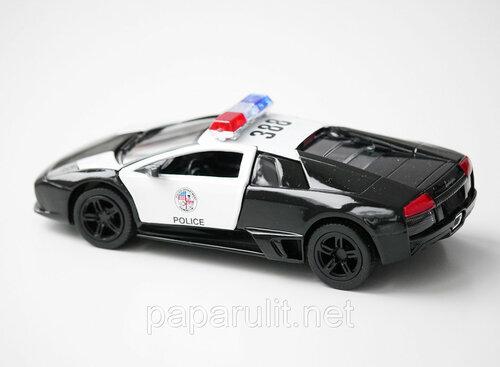 Kinsmart Lamborghini Police