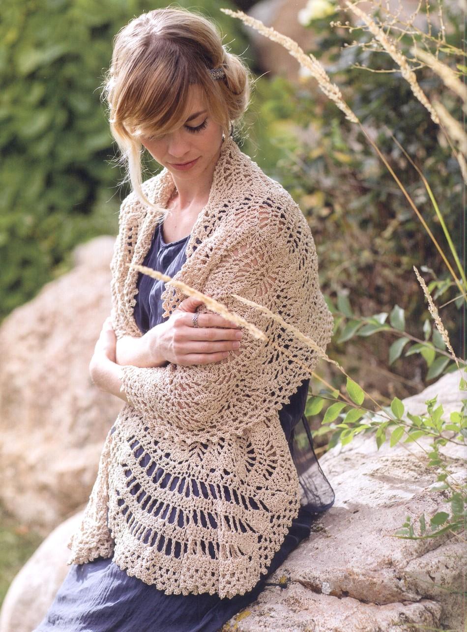 Classic Crochet Shawls
